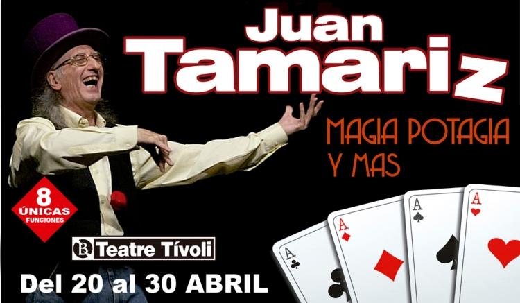 Juan Tamariz campanya