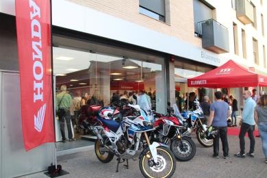 Inauguració instal·lacions Blanmoto