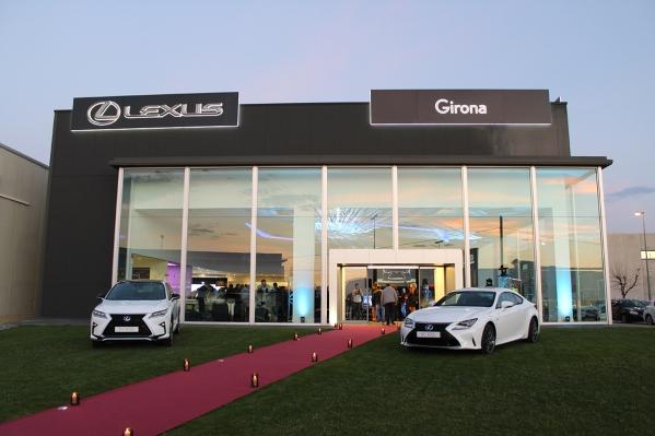 Inauguració instal·lacions Lexus