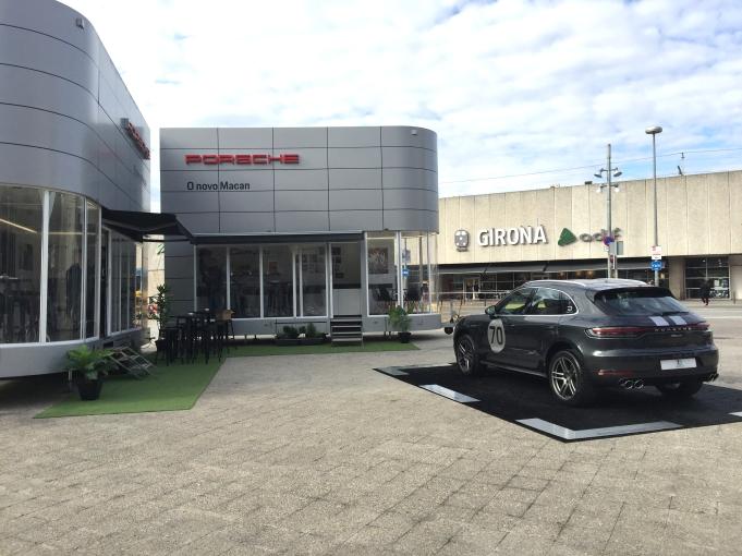 Presentació a Girona Porsche Macan